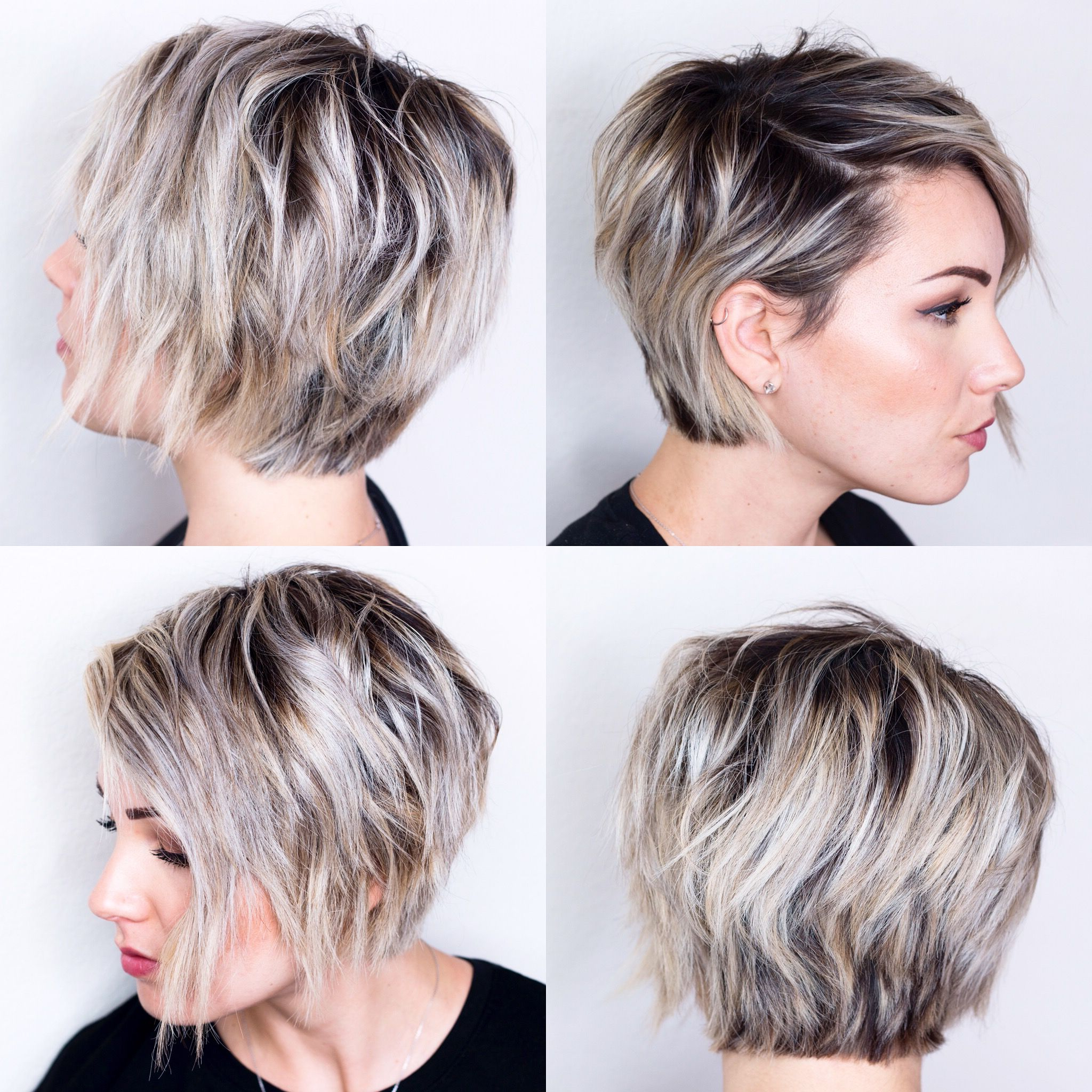 032 Very Short Edgy Hairstyles View Hair Styles Round Faces Throughout Pixie Haircuts With Large Curls (View 1 of 20)