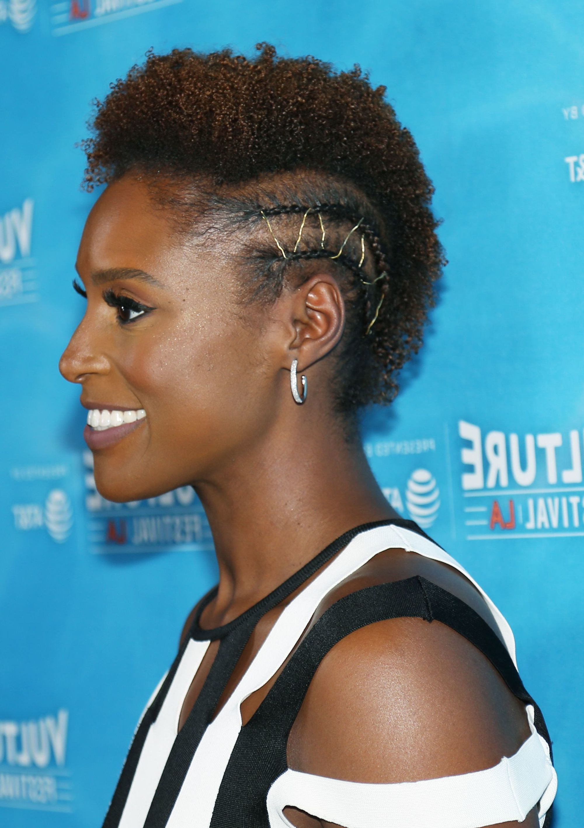 10 Mohawk Hairstyles For Black Women You Seriously Need To For Trendy Cassie Bun Mohawk Hairstyles (Gallery 7 of 20)