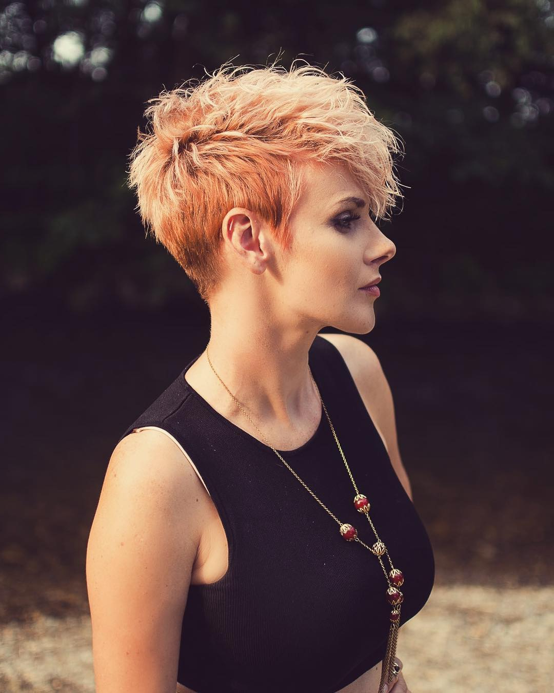 10 Peppy Pixie Cuts – Boy Cuts & Girlie Cuts To Inspire 2020 With Regard To Blonde Pixie Haircuts With Curly Bangs (Gallery 19 of 20)