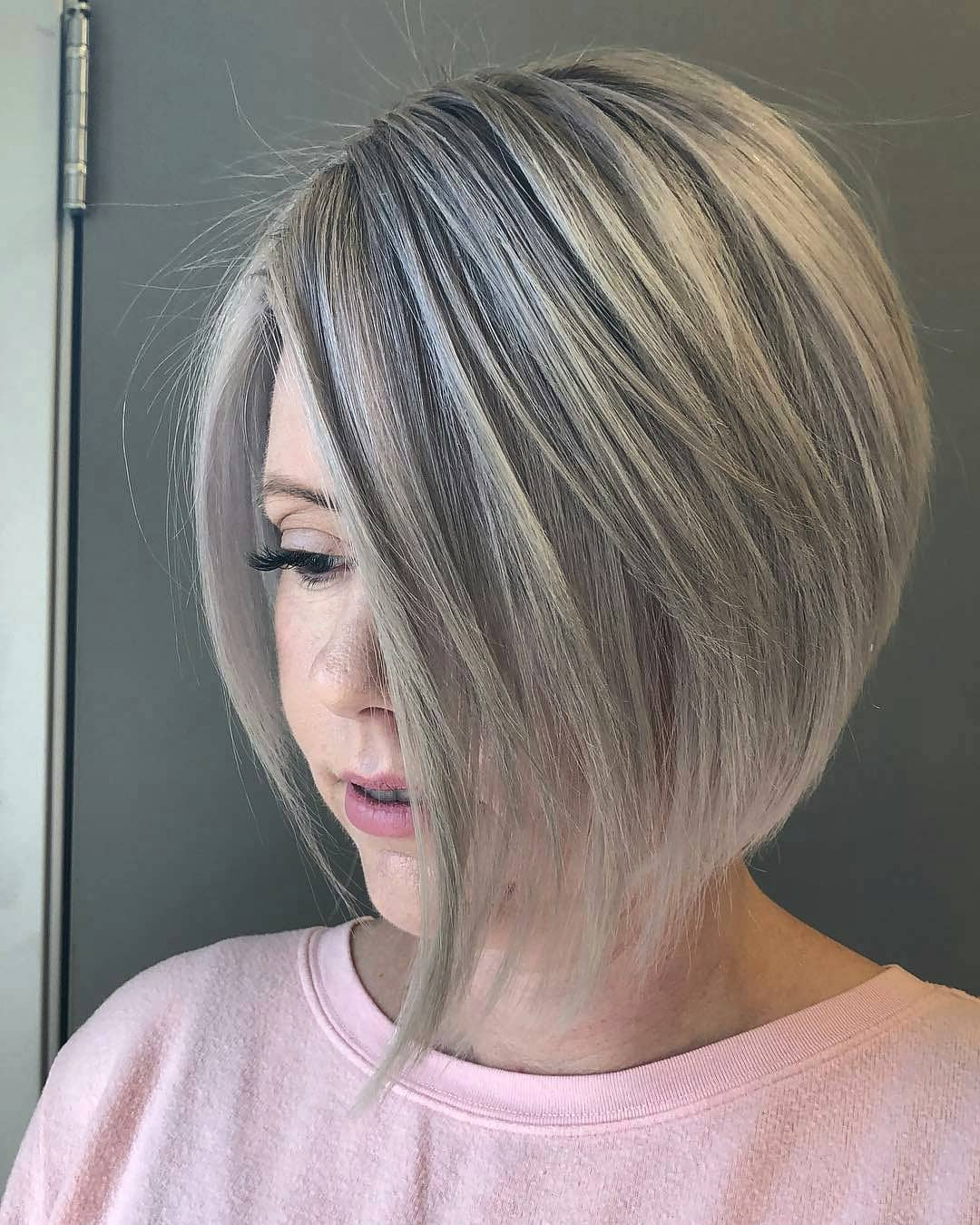 10 Simple Short Straight Bob Haircuts, Women Short Hairstyle For Silver Short Bob Haircuts (Gallery 15 of 20)