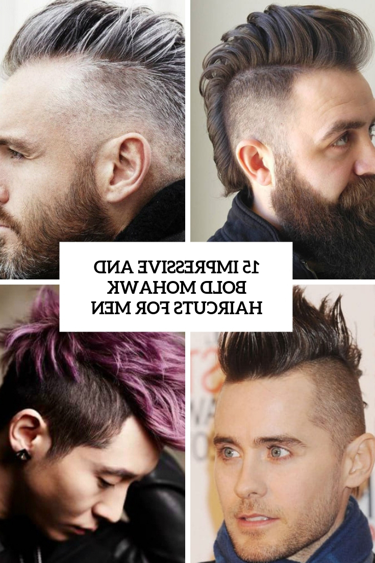 15 Impressive And Bold Mohawk Haircuts For Men – Styleoholic In Preferred Curly Highlighted Mohawk Hairstyles (Gallery 16 of 20)