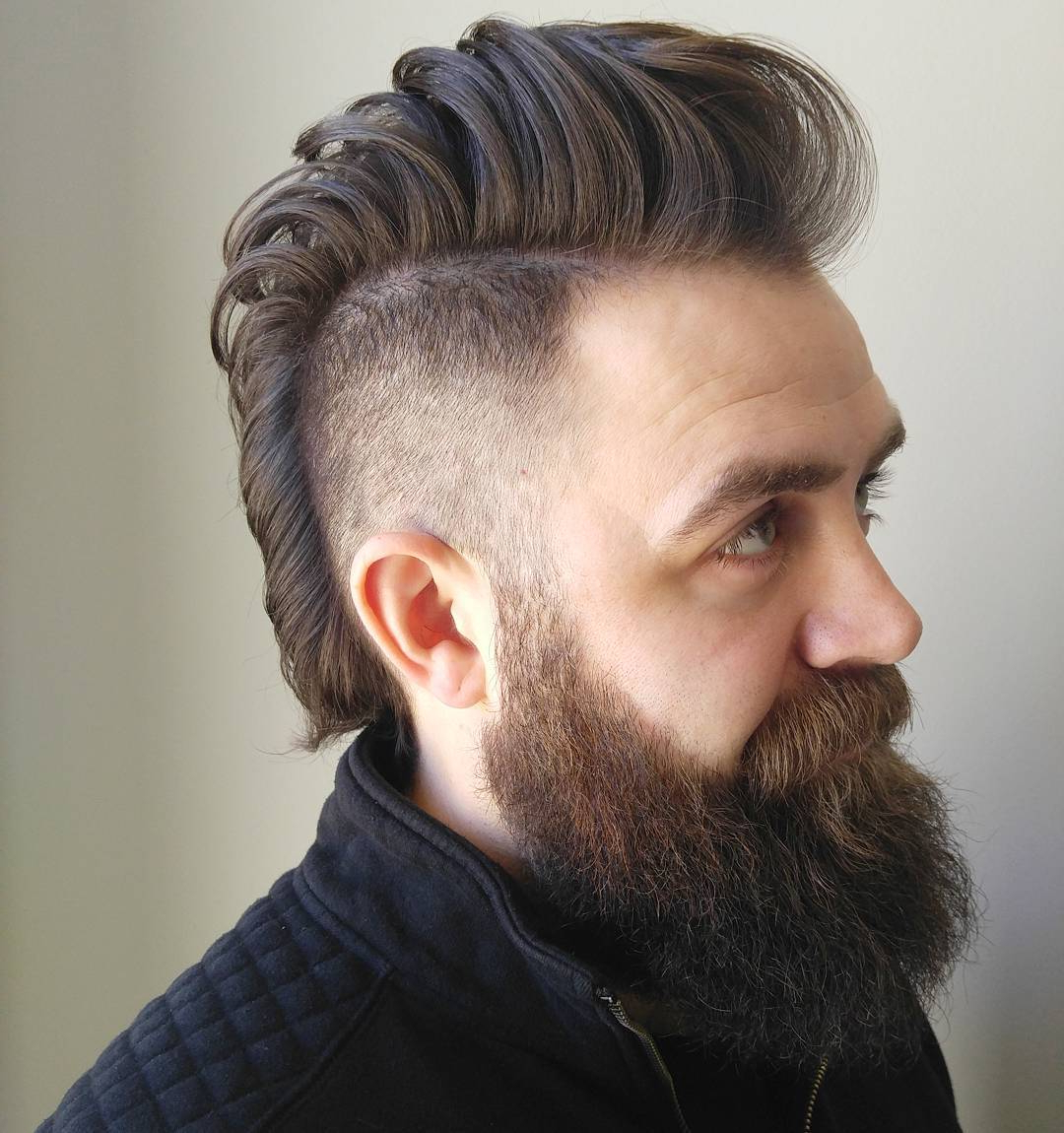 15 Mohawk Fade Haircuts (2020 Update) Intended For Most Recently Released Messy Curly Mohawk Haircuts (Gallery 7 of 20)