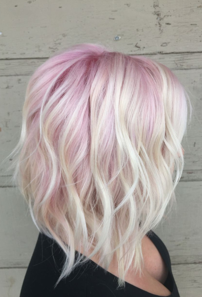 15 Ways To Add Bright Color To Your A Line Bob Haircut Pertaining To Bright Bob Hairstyles (View 1 of 20)