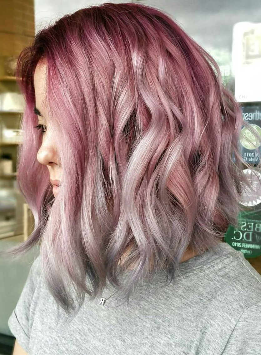 15 Ways To Add Bright Color To Your A Line Bob Haircut With Regard To Bright Bob Hairstyles (Gallery 6 of 20)