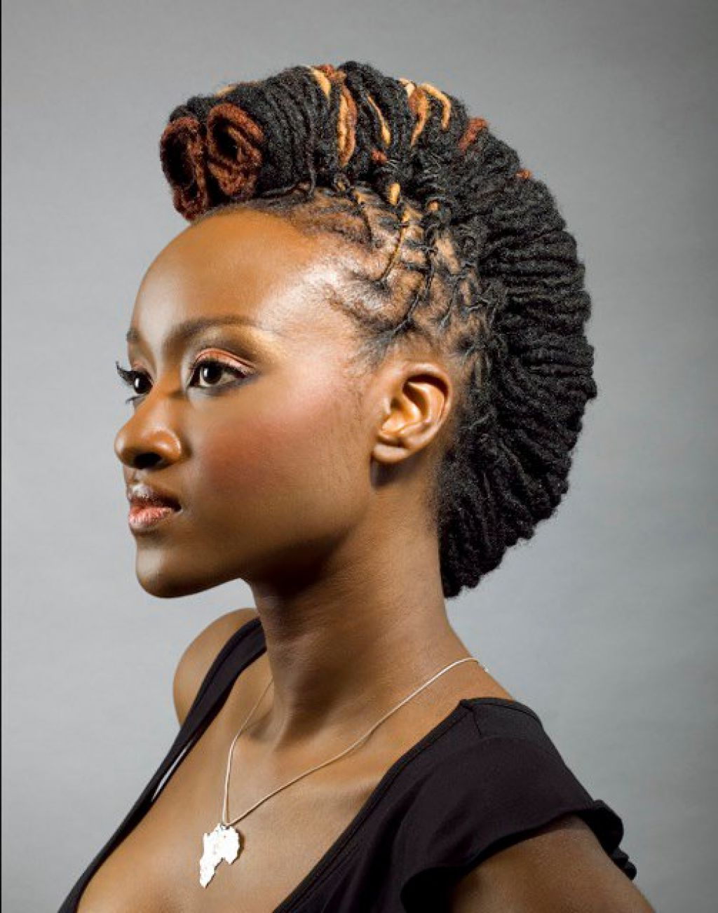 17 Stunning Women With Dreadlocks – African Vibes Magazine With Famous Dreadlocked Mohawk Hairstyles For Women (View 17 of 20)