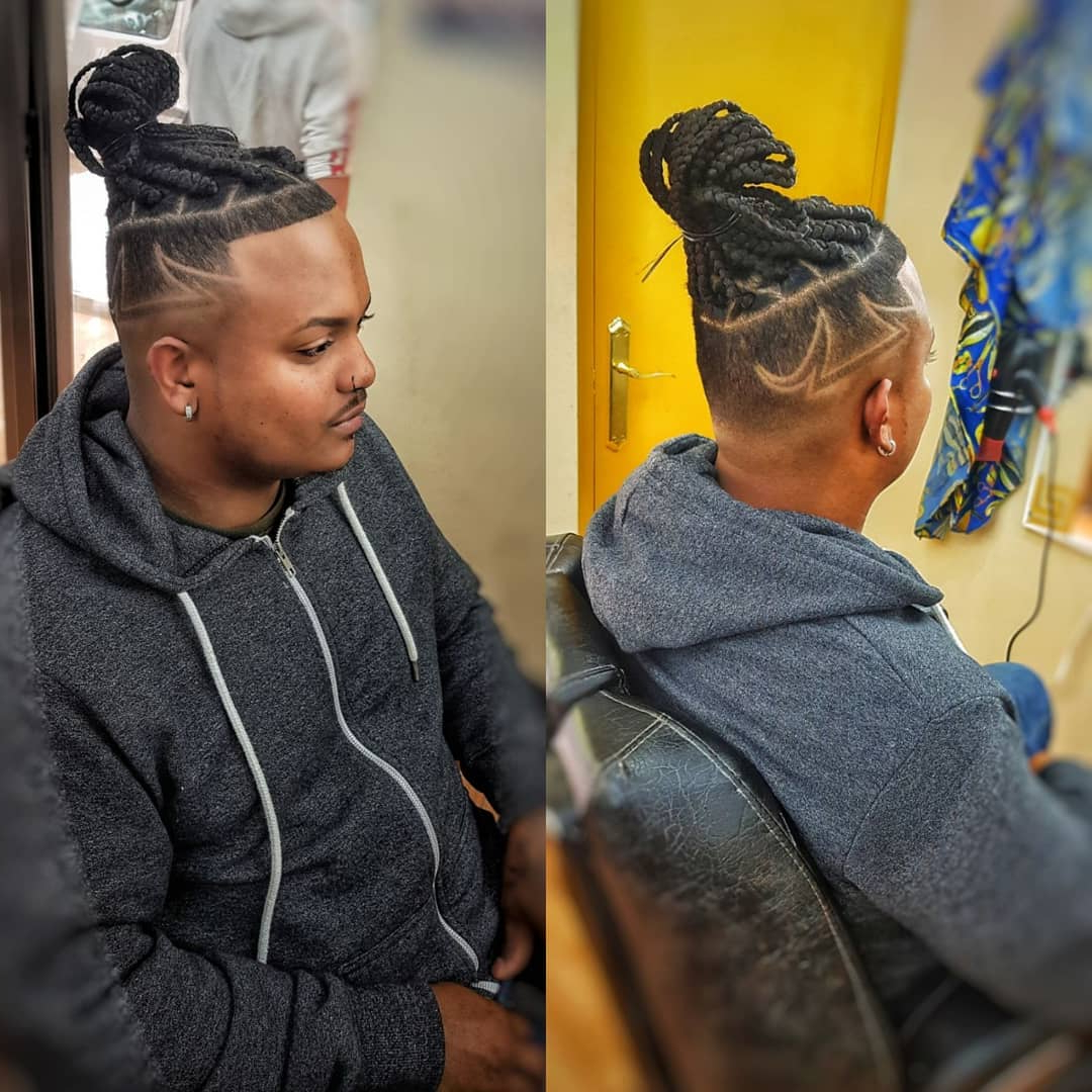 20 Best Box Braids For Men With Imgaes – Atoz Hairstyles Regarding Famous Box Braids Mohawk Hairstyles (View 13 of 20)