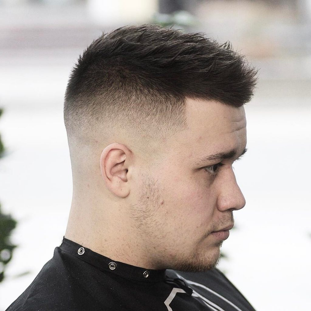 20 Best Men's Hairstyles For Round Face Shape Within Most Popular Sharp Cut Mohawk Hairstyles (View 2 of 20)