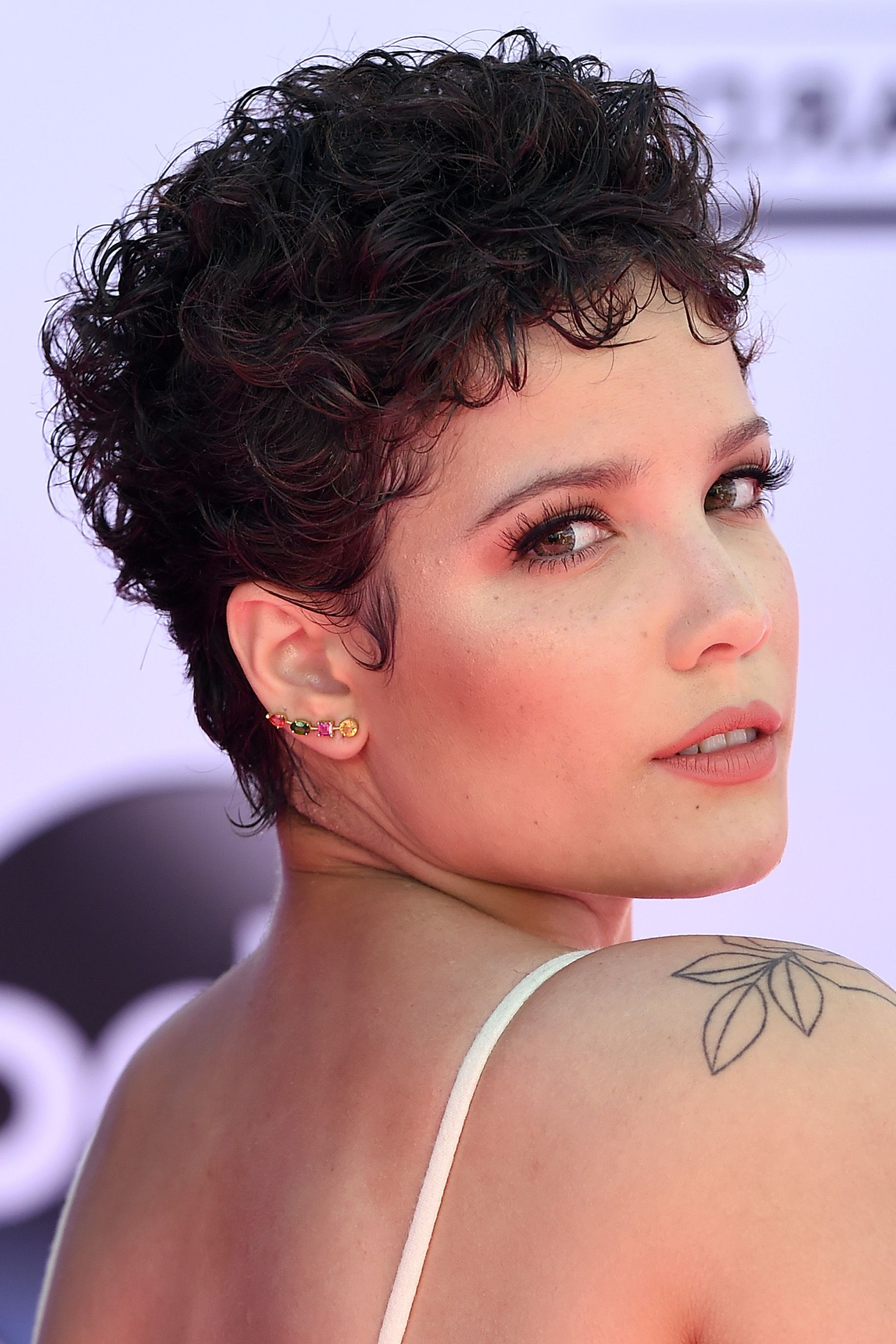 20 Best Short Curly Hairstyles 2019 – Cute Short Haircuts With Pixie Haircuts With Large Curls (View 3 of 20)