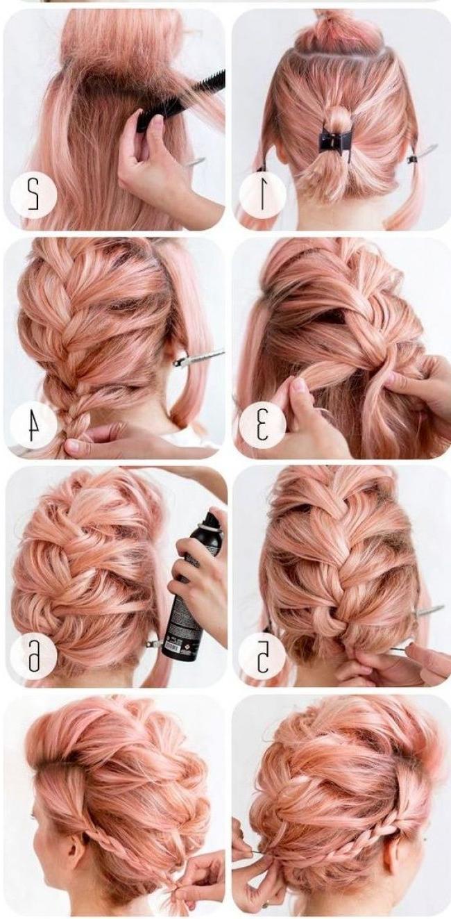 20 Причесок, Которые Не Под Силу Испортить Никакой Летней With Regard To Most Current Teased Long Hair Mohawk Hairstyles (View 6 of 20)