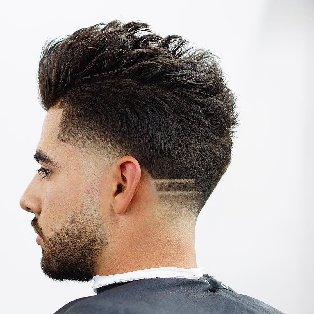 20 Drop Fade Haircuts Ideas – New Twist On A Classic Inside Recent Long Straight Hair Mohawk Hairstyles (View 11 of 20)