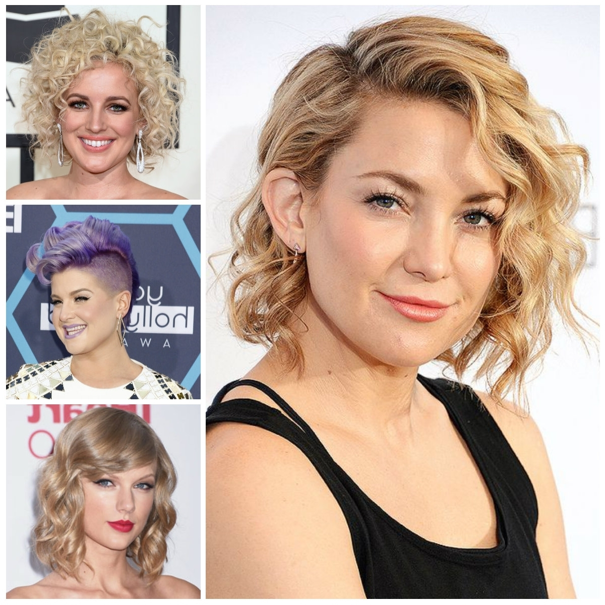 2018 Curly Short Haircuts – Short And Cuts Hairstyles Within Pixie Haircuts With Large Curls (View 5 of 20)
