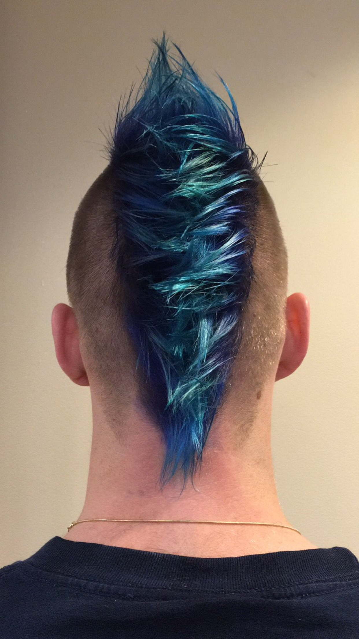 2020 Blue Hair Mohawk Hairstyles Within 10 Classic Hairstyles Tutorials That Are Always In Style (View 1 of 20)