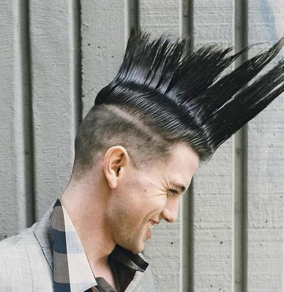 2020 Color Treated Mohawk Hairstyles Intended For The Jackson Rathbone Mohawk Hairstyle – Cool Men's Hair (View 10 of 20)