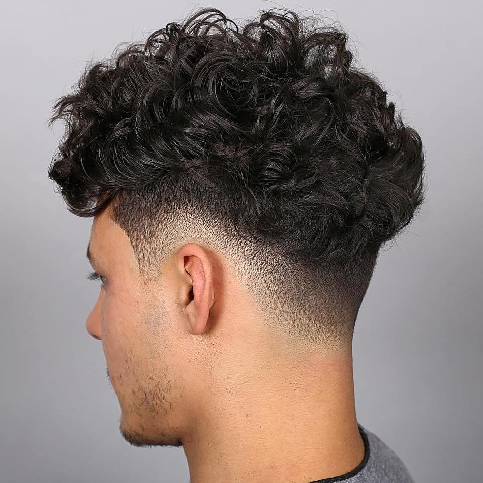 2021 Long Luscious Mohawk Haircuts For Curly Hair Pertaining To 20 Best Drop Fade Haircut Ideas For Men In 2019 (Gallery 20 of 20)