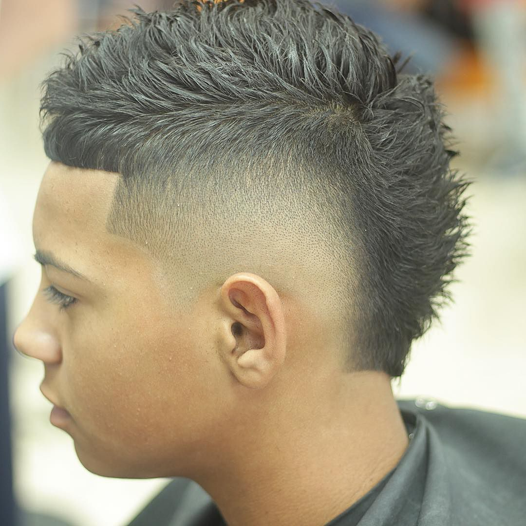 2021 Sharp And Clean Curly Mohawk Haircuts With Regard To Pin On The Latest Barber Haircuts (View 5 of 20)