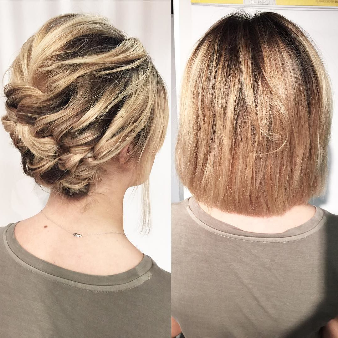 25 Cute Short Hairstyle With Braids – Braided Short Haircuts Regarding Pretty Short Bob Haircuts With Braid (View 10 of 20)