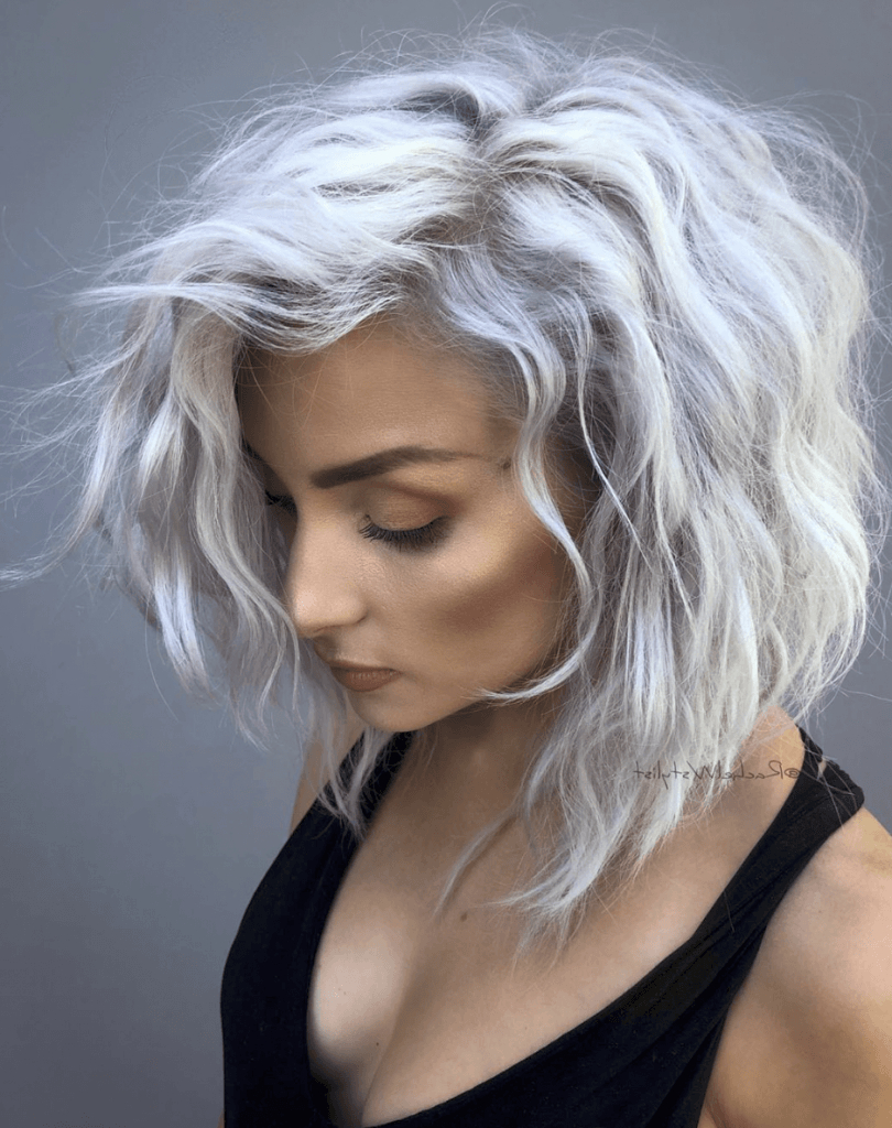 27 Chic Short Bob Hairstyles – Hairstyle On Point With Regard To Silver Short Bob Haircuts (View 6 of 20)