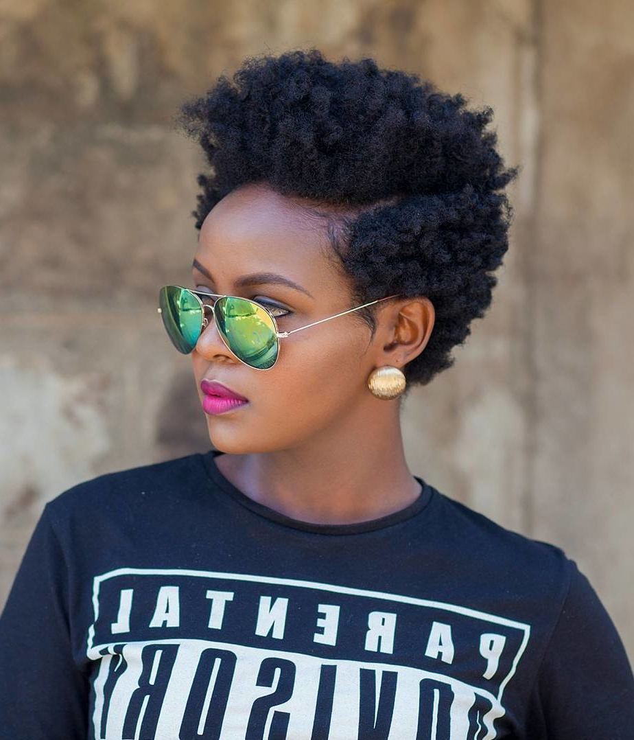 28 Curly Pixie Cuts That Are Perfect For Fall 2017 | Glamour Inside Pixie Haircuts With Tight Curls (View 12 of 20)