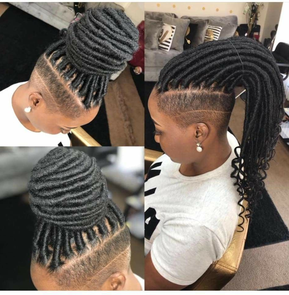 Featured Photo of Sharp Cut Mohawk Hairstyles