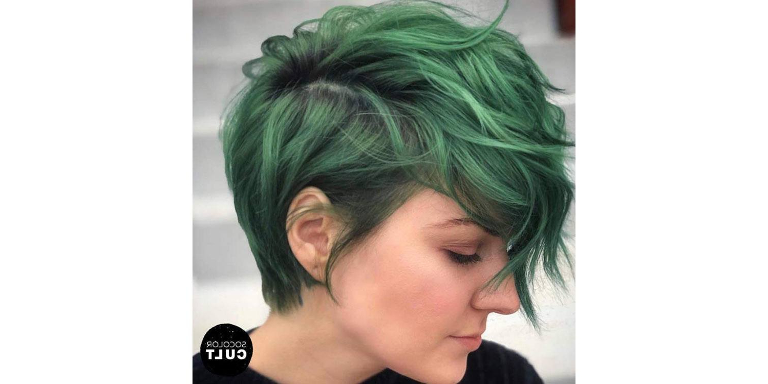 5 Different Pixie Haircut Styles To Try Right Now | Matrix Regarding Pastel Pixie Haircuts With Curly Bangs (View 13 of 20)