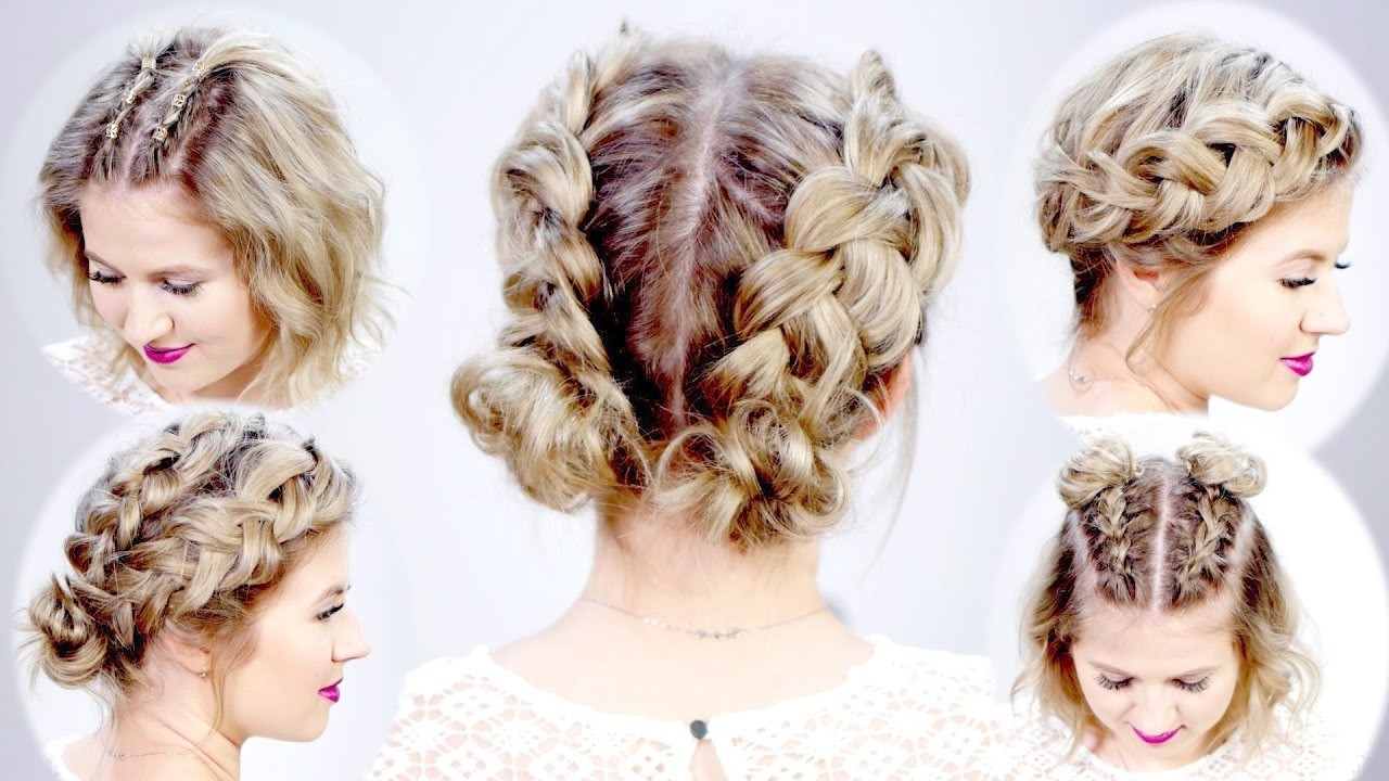 5 Double Dutch Braided Hairstyles For Short Hair | Milabu With Pretty Short Bob Haircuts With Braid (View 14 of 20)