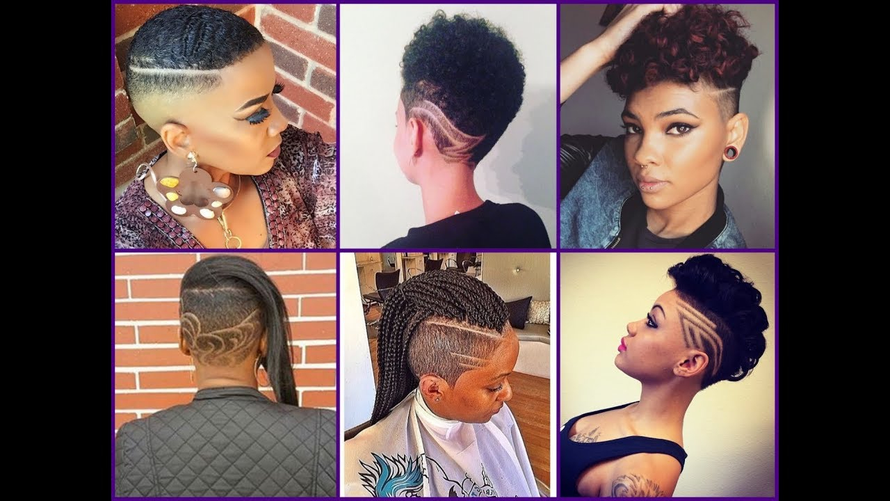 50 Best Mohawk Haircuts For African American Women – Trendy Hairstyles 2018 With Most Recently Released Shaved Short Hair Mohawk Hairstyles (View 3 of 20)