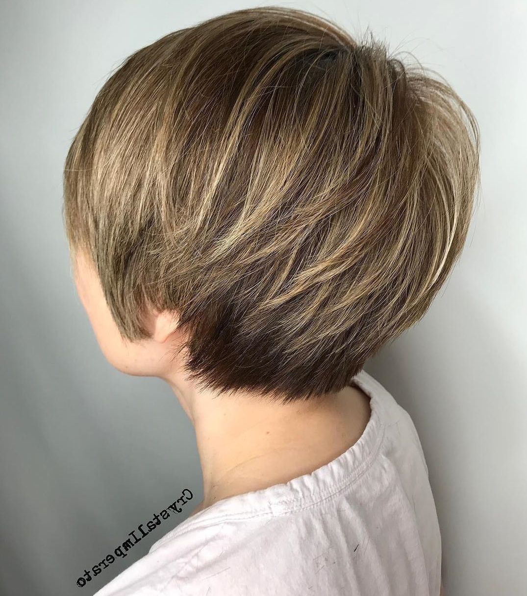 50 Hottest Pixie Cut Hairstyles In 2019 Regarding Trendy Pixie Haircuts With Vibrant Highlights (View 12 of 20)