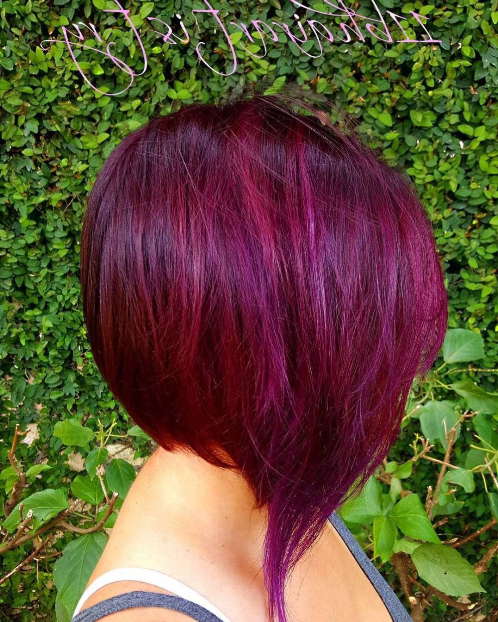 50 Trendy Inverted Bob Haircuts | Hairy Business | Curly Bob Within Bright Bob Hairstyles (View 9 of 20)