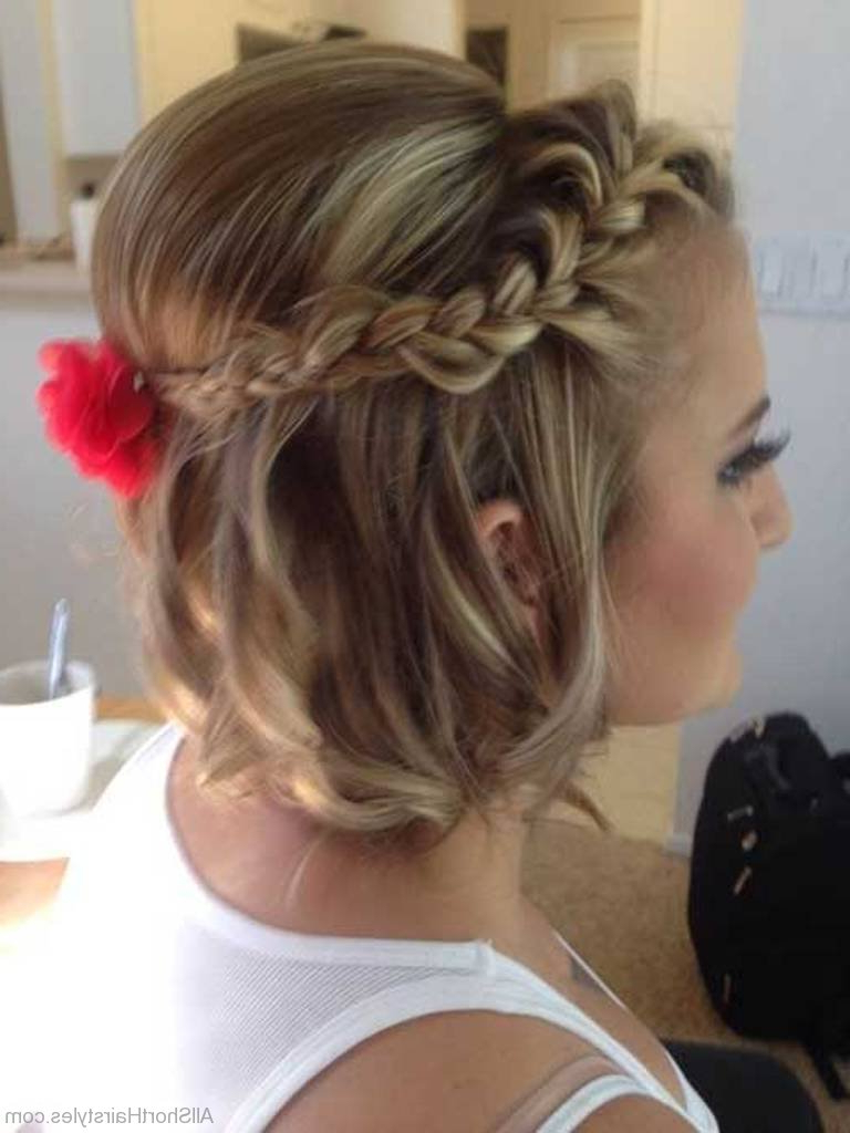 56 Cute Short Braid Haircuts For Sweet Girls Inside Pretty Short Bob Haircuts With Braid (View 16 of 20)