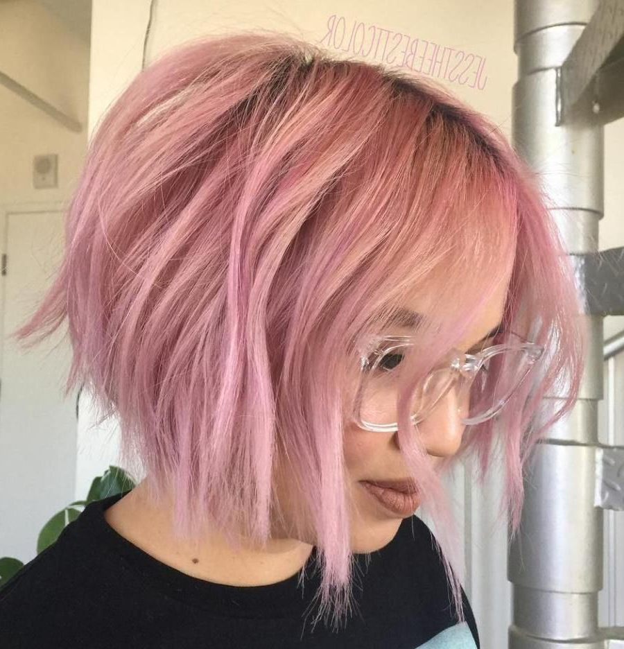 Featured Photo of Pink Bob Haircuts