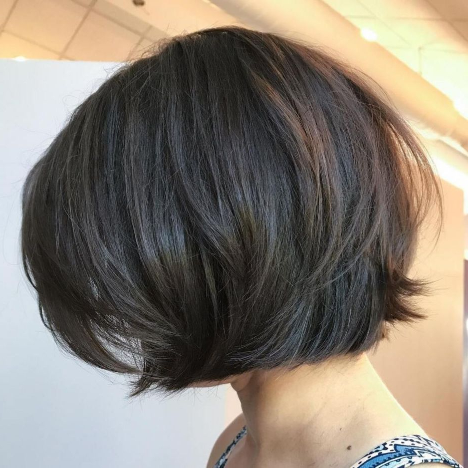 60 Best Short Bob Haircuts And Hairstyles For Women Throughout Layered Short Bob Haircuts (View 9 of 20)