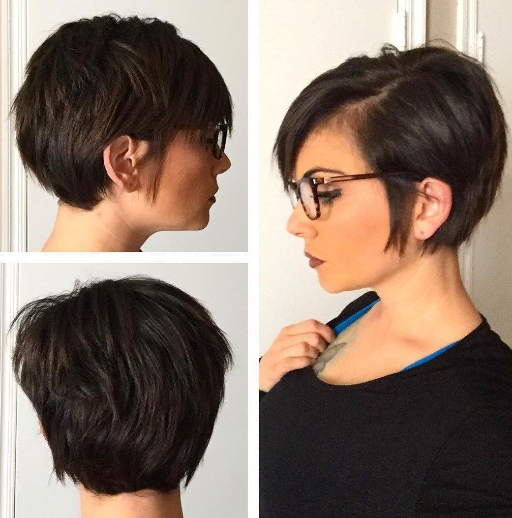 60 Classy Short Haircuts And Hairstyles For Thick Hair For Classy Pixie Haircuts (View 12 of 20)