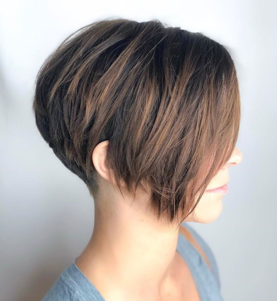 60 Classy Short Haircuts And Hairstyles For Thick Hair Within Classy Pixie Haircuts (View 17 of 20)