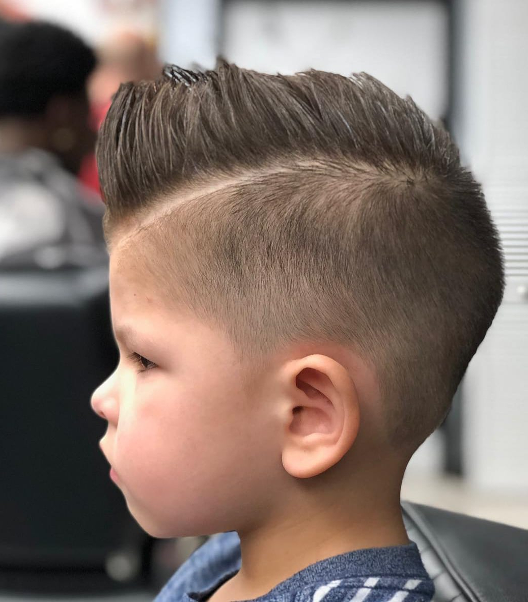 60 Cute Toddler Boy Haircuts Your Kids Will Love Intended For Most Up To Date Medium Length Hair Mohawk Hairstyles (Gallery 19 of 20)