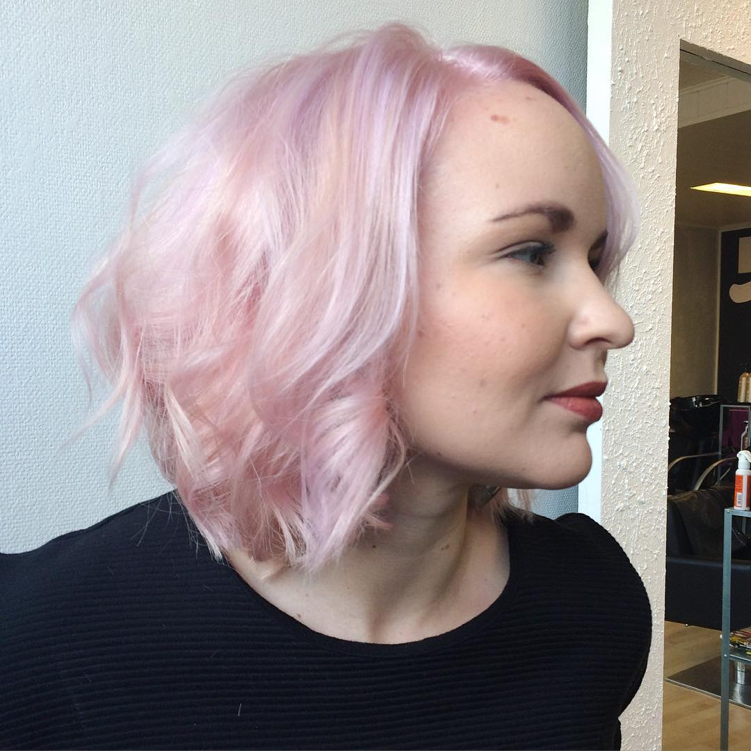 60 Hottest Bob Hairstyles For Everyone! (Short Bobs, Mobs Throughout Pink Bob Haircuts (View 9 of 20)