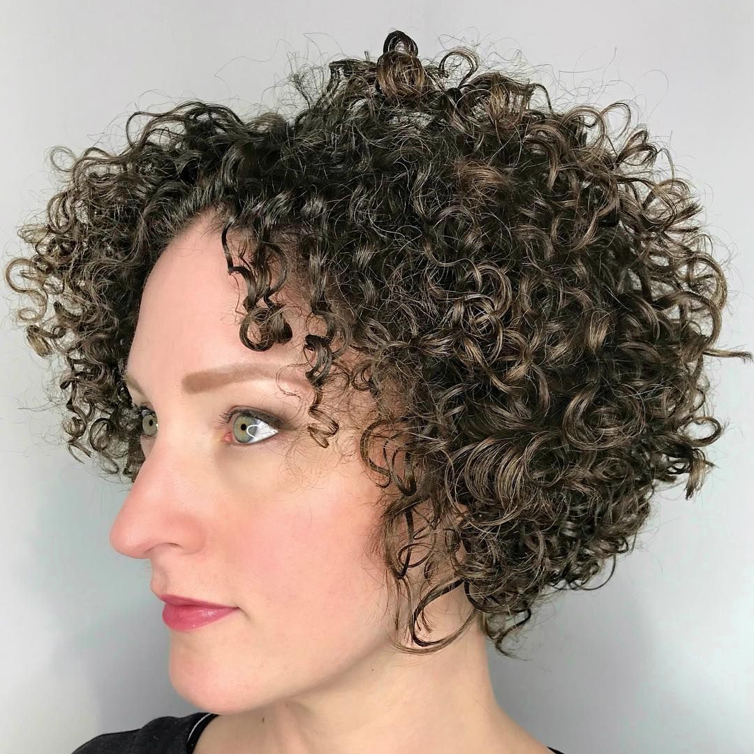 65 Different Versions Of Curly Bob Hairstyle | My Style In For Pixie Haircuts With Tight Curls (View 13 of 20)