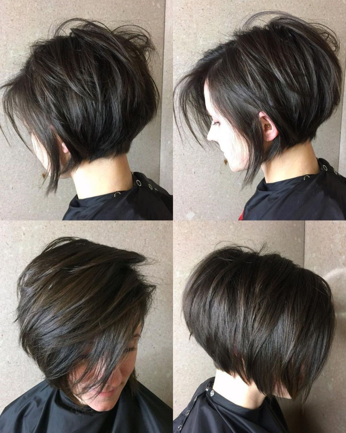 70 Cute And Easy To Style Short Layered Hairstyles In 2019 Pertaining To Voluminous Short Bob Haircuts (Gallery 3 of 20)
