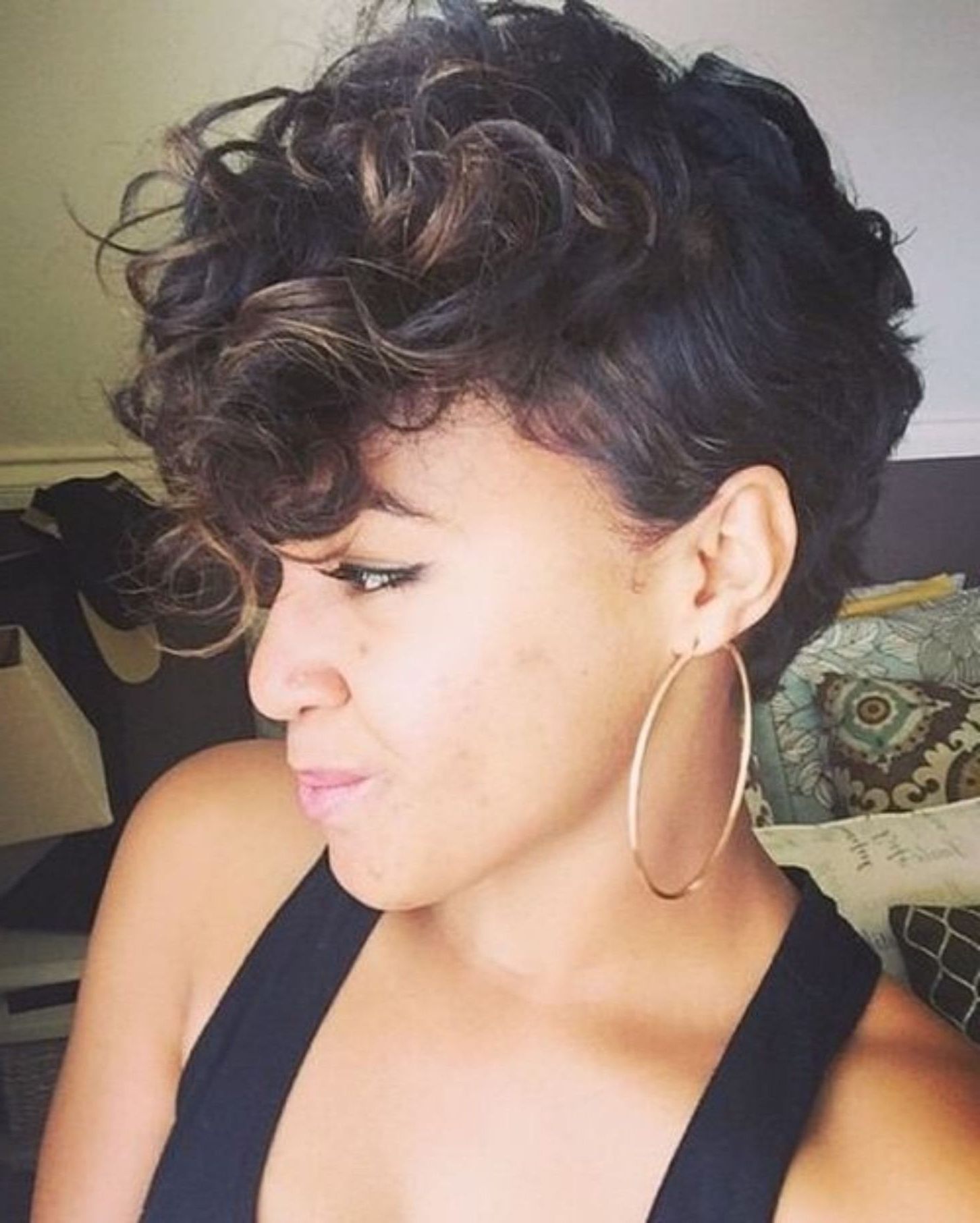 70 Most Gorgeous Mohawk Hairstyles Of Nowadays In 2019 Within 2021 Feminine Curly Mohawk Haircuts (Gallery 3 of 20)