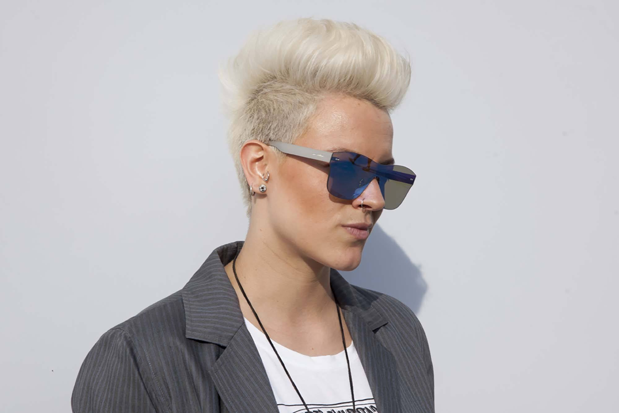 8 Fashionable Mohawk Hairstyles For Women: From Haute To Regarding Most Recent Classic Blonde Mohawk Hairstyles For Women (View 7 of 20)