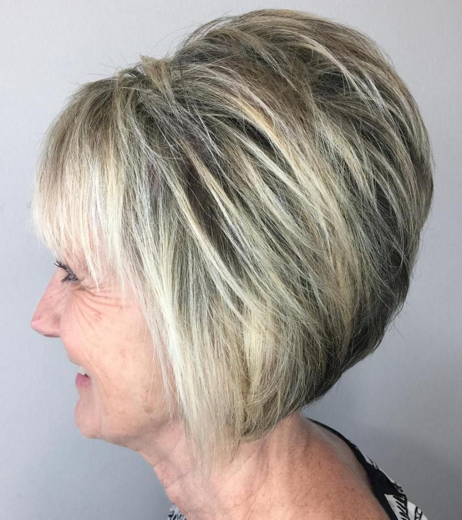 80 Best Modern Hairstyles And Haircuts For Women Over 50 Within Voluminous Short Bob Haircuts (View 11 of 20)