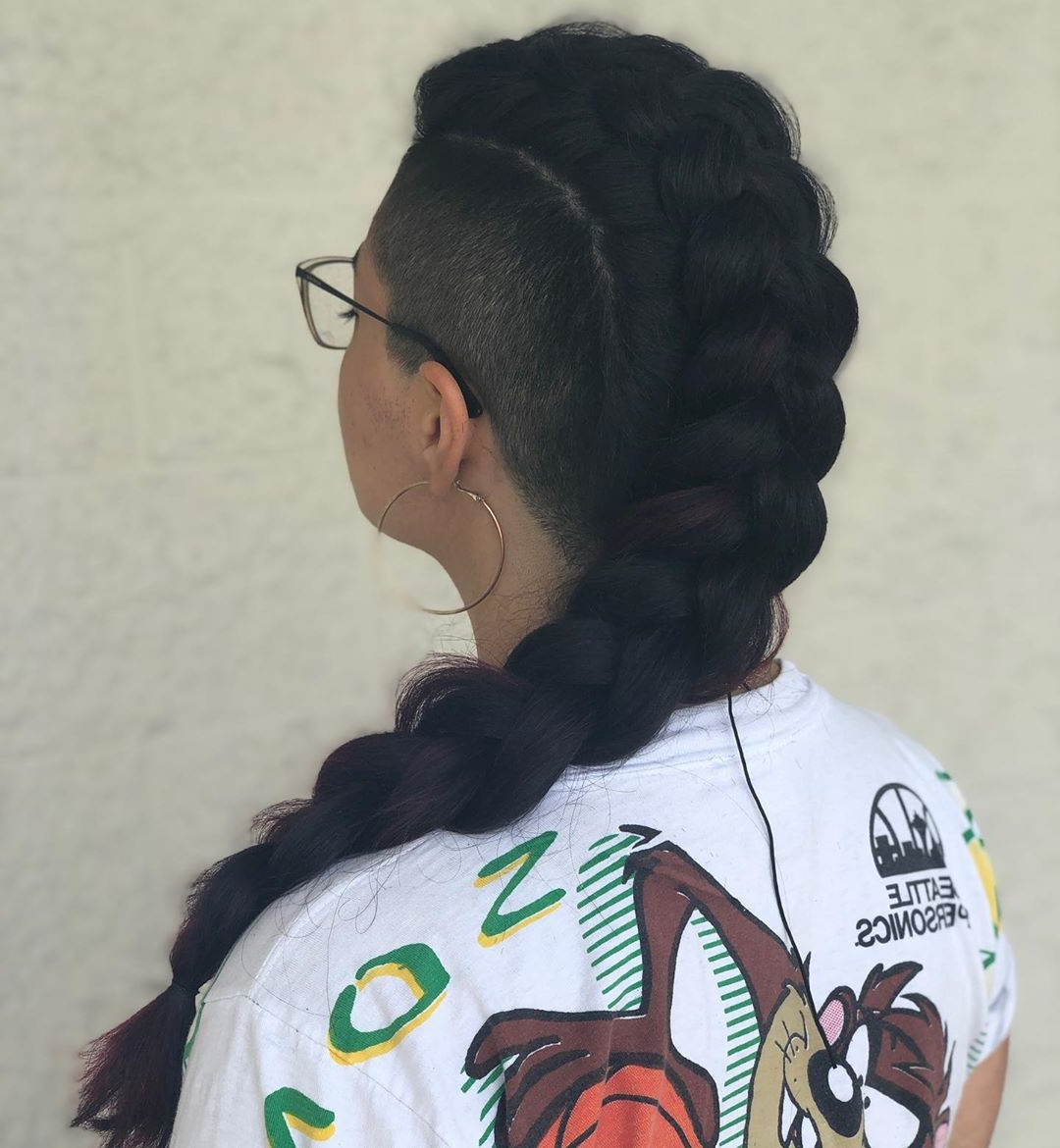 All Things Hair Uk Pertaining To Well Liked Long Hair Mohawk Hairstyles With Shaved Sides (View 14 of 20)