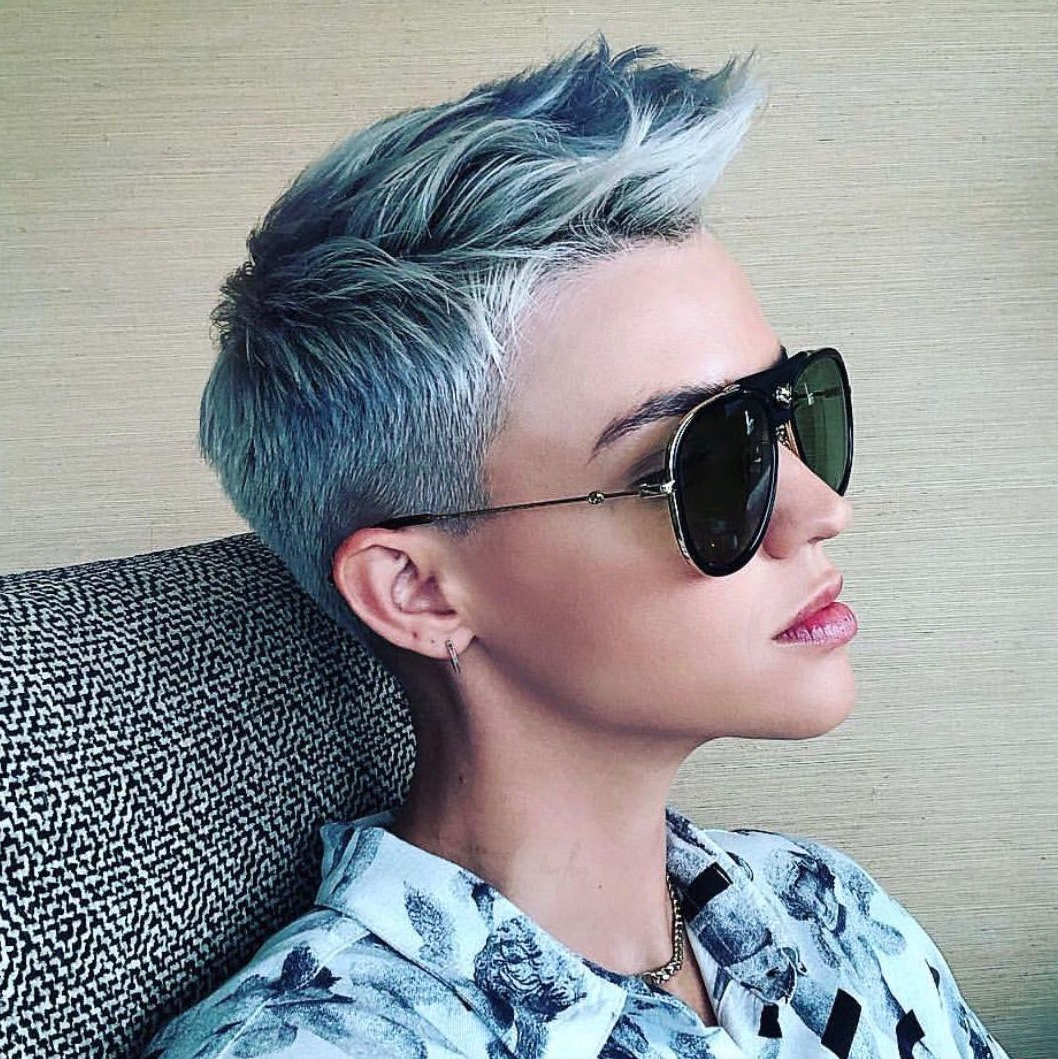 Allure Intended For Well Known Blue Hair Mohawk Hairstyles (View 4 of 20)