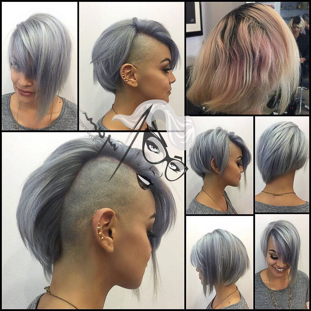 Best And Newest Color Treated Mohawk Hairstyles With Regard To Pin On Cut, Color And Style Please (View 4 of 20)