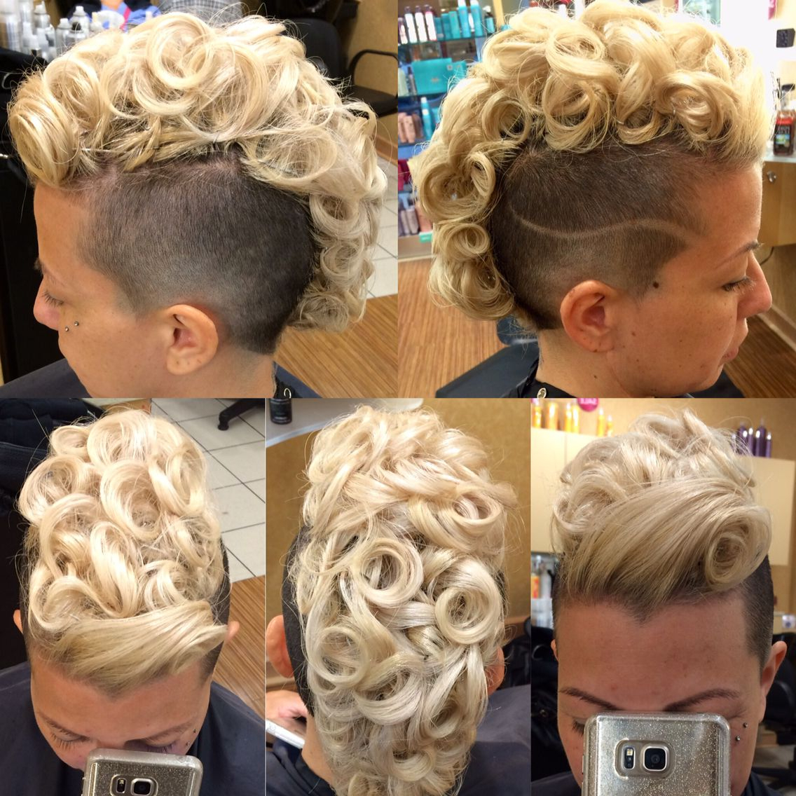Best And Newest Fancy Mohawk Haircuts Pertaining To Hairdare #womenshair #beauty #hairstyles #mohawk (View 4 of 20)