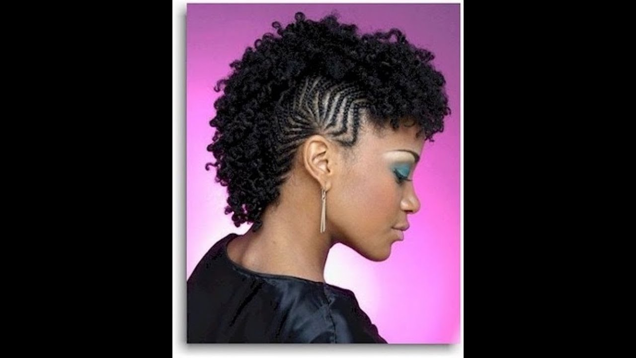 Best And Newest Mohawk Hairstyles With Braided Bantu Knots With Black Braided Mohawk Hairstyles (View 4 of 20)