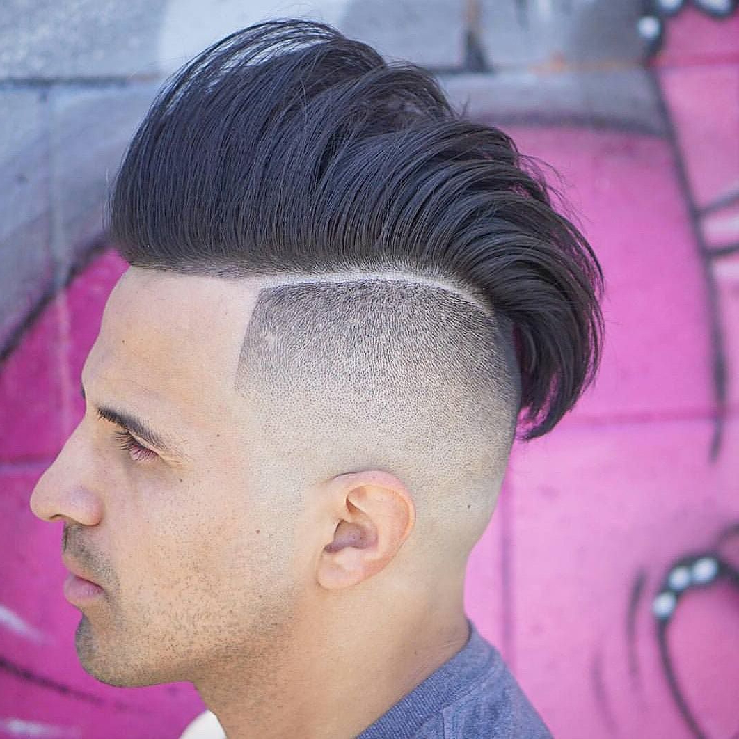 [%Best And Newest Sharp Cut Mohawk Hairstyles Inside 60 New Sharp Line Up Hairstyles – [Best 2019 Styling!]|60 New Sharp Line Up Hairstyles – [Best 2019 Styling!] With Regard To Widely Used Sharp Cut Mohawk Hairstyles%] (View 1 of 20)