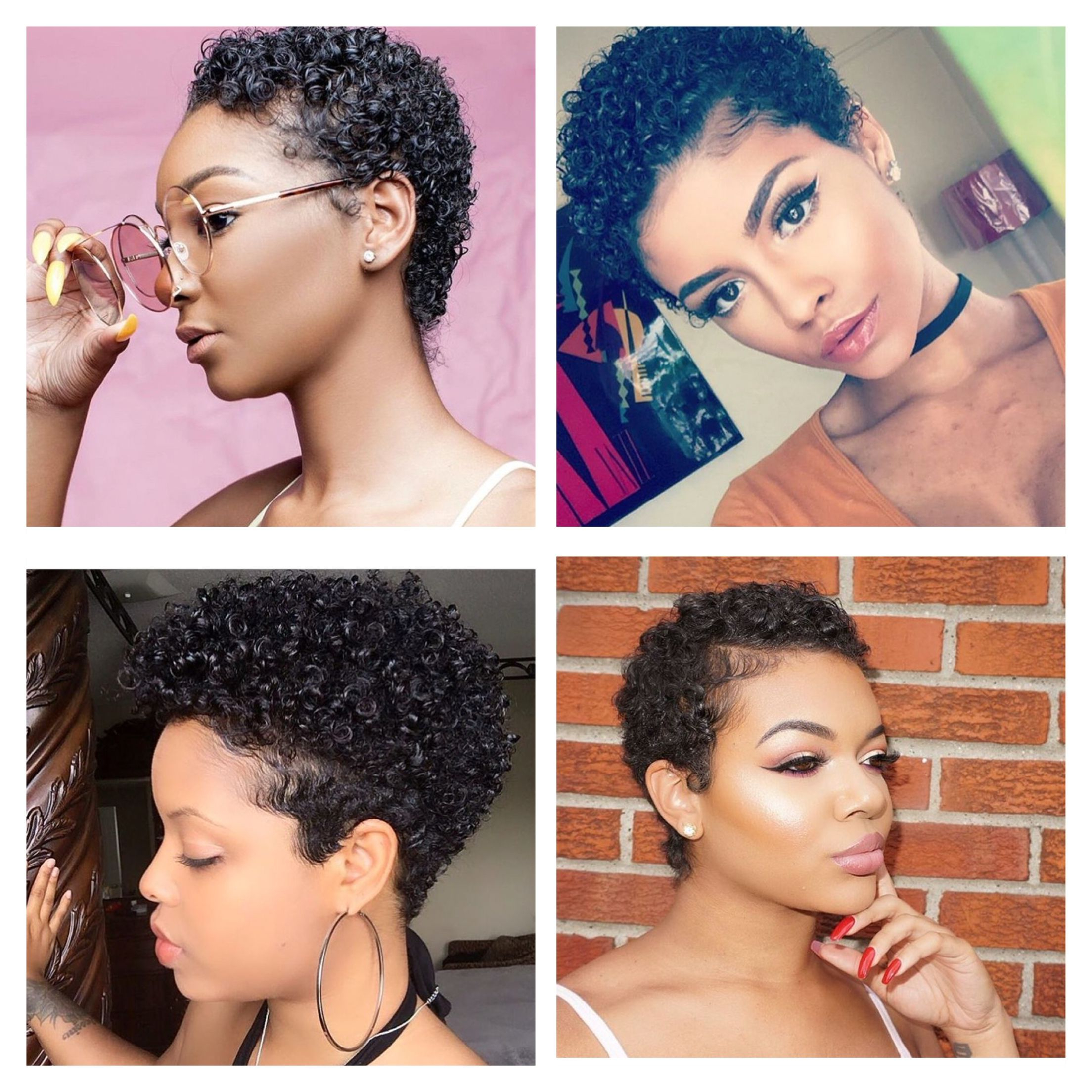 Big Chop Styles I Love!! *i Do Not Own These Photos Intended For Most Recently Released Asymmetrical Chop Mohawk Haircuts (View 5 of 20)