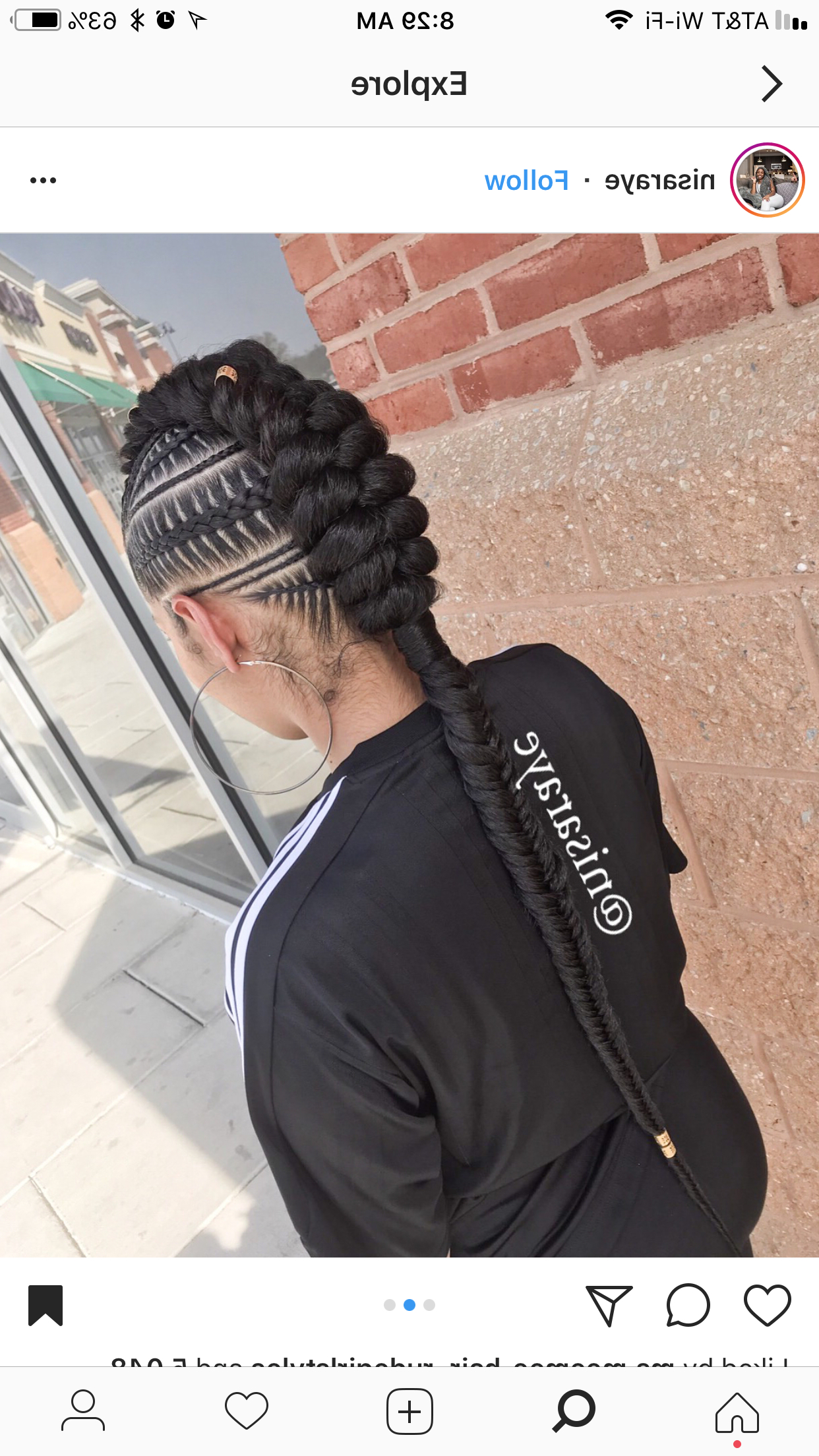 Braided Hairstyles, Hair Regarding Well Known Twisted Braids Mohawk Hairstyles (View 16 of 20)