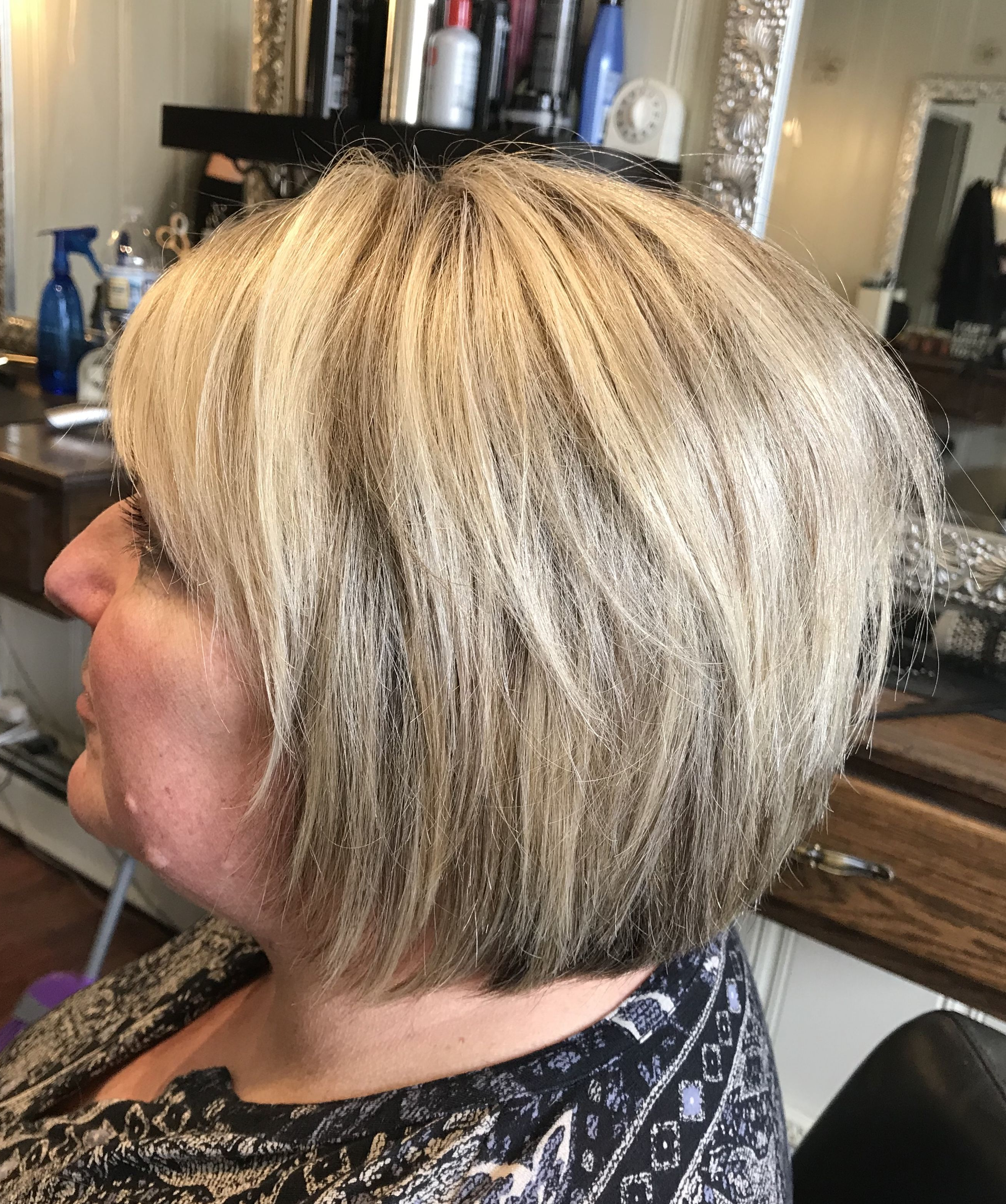 Bright Blonde Highlights On A Choppy Bob Haircut | Hair I've Throughout Bright Bob Hairstyles (View 3 of 20)
