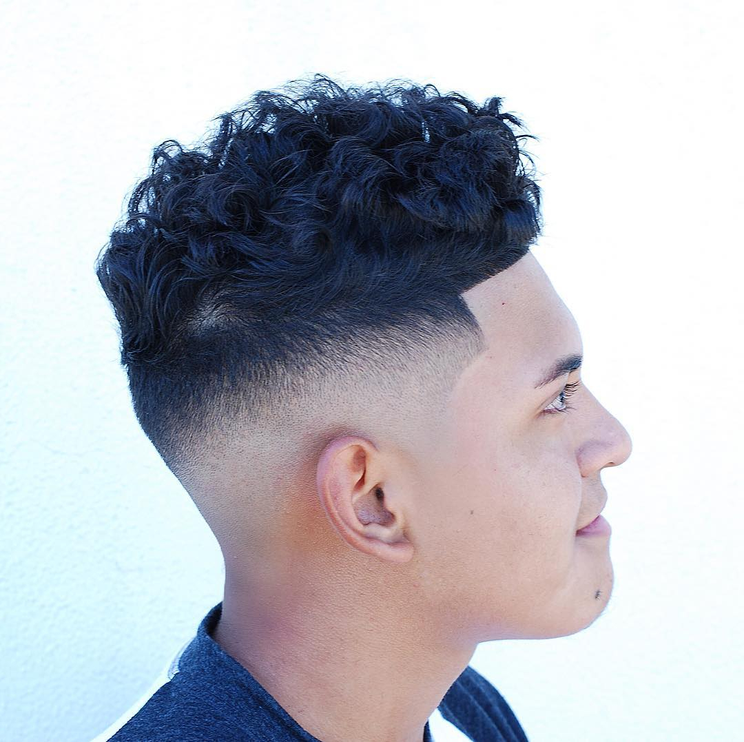Cool Haircuts With Shaved Sides Inside Most Recently Released Sharp And Clean Curly Mohawk Haircuts (View 16 of 20)